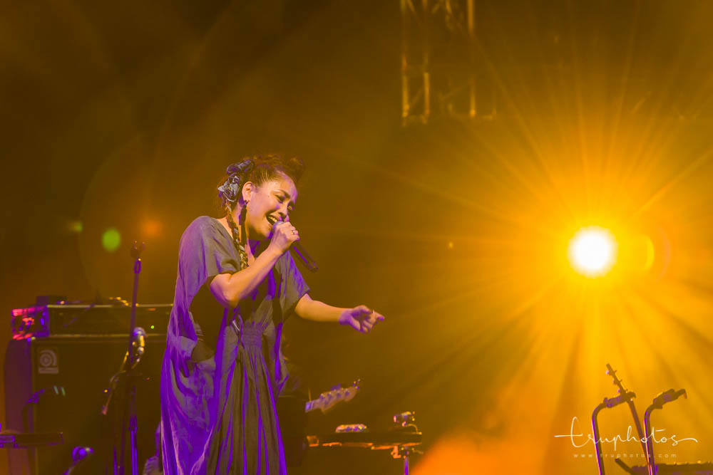 Hajime Chitose solo performances at her first concert in Singapore
